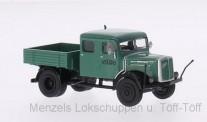 Brekina 58098 Saurer 7G1F-F DoKa Pritsche Schwarzbau