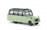 Brekina 58182 Hanomag L28 Lohner-Bus grün/grün