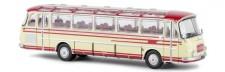 Brekina 58204 Setra S12 Reisebus rot/elfenbein