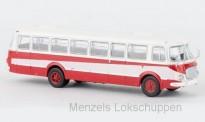 Brekina 58257 Jelcz 043 Bus weiß/rot mit Dekor