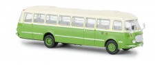 Brekina 58259 Jelcz 043 Bus hellbeige/grün Wismut