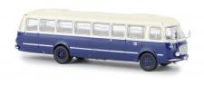 Brekina 58261 Jelcz 043 Bus hellbeige/dunkelblau Wism