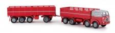 Brekina 58411 Fiat 690 Millepiedi rot/grau