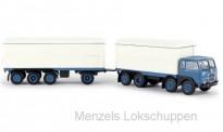 Brekina 58420 Fiat 690 Millepiedi KHZ blau/weiß