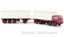 Brekina 58421 Fiat 690 Millepiedi KHZ rot/weiß