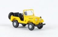 Brekina 58905 Jeep Universal gelb