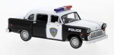 Brekina 58942 Checker Cab, Saugus Squad Car
