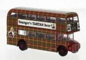 Brekina 61107 AEC Routemaster Younger´s Tartan beer