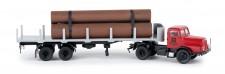 Brekina 71197 IFA Z6 Rungen-SZ Stahlkombinat Riesa