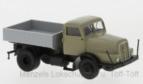 Brekina 71199-2 IFA Z6 SZM mit Pritsche beige