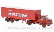 Brekina 81113 MB LS1620 Kühlkoffer-SZ Jamon Montero