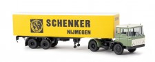 Brekina 85278 DAF FT2600 Koffer-SZ Schenker/Nijmegen