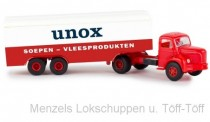 Brekina 85431 Berliet TLR8 Koffer-SZ Unox