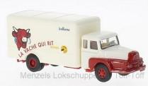 Brekina 85509 Unic ZU122 Koffer-Lkw La vache Qui rit