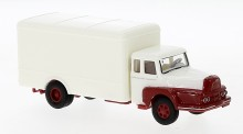 Brekina 85513 Unic ZU122 Koffer-Lkw weiß/rot