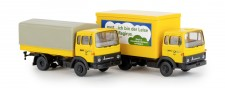 Brekina 90461 2er Set: Magirus MK Deutsche Post
