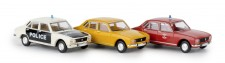 Brekina 90475 Set mit 3 Peugeot 504
