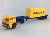 Brekina 98161 MB LPS1620 20ft Container-SZ Danzas