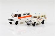 Brekina 99292 Set: Polizei Basel Stadt