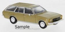 Brekina PCX870023 Opel Rekord D Caravan (1972) goldmet.