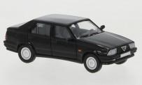 Brekina PCX870054 Alfa Romeo 75 schwarz 1988