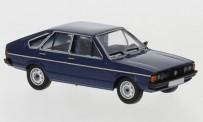 Brekina PCX870249 VW Passat (B1) dunkelblau-met.(4-türig)