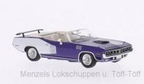 Brekina RIK38283 Plymouth HEMI Cuda Convertible violett