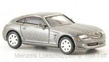 Brekina RIK38365 Chrysler Crossfire Coupe grau-met.