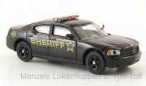 Brekina RIK38468 Dodge Charger Police schwarz Sheriff
