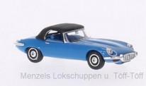 Brekina RIK38620 Jaguar E-Type Roadster blau