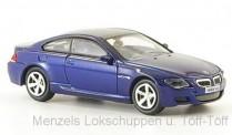 Brekina RIK38672 BMW M6 blau 2006