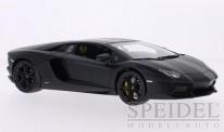 Bburago 11033MB Lamborghini Aventador LP700-4 schwarz