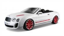 Bburago 11035W Bentley Continental Cabrio weiß