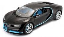 Bburago 11040BK Bugatti Chiron, schwarz