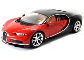 Bburago 11040R Bugatti Chiron, rot/schwarz