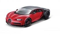 Bburago 11044R Bugatti Chiron Sport rot/schwarz