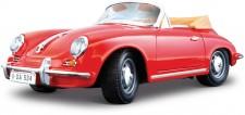 Bburago 12025R Porsche 356B Cabrio offen 1961