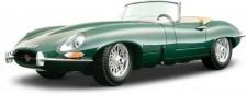 Bburago 12046G Jaguar E-Type Cabrio racinggreen 1961