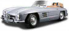 Bburago 12049S MB 300 SL Roadster offen silbermet. 1957