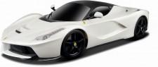 Bburago 16001W Ferrari LaFerrari weiß