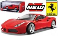 Bburago 16008R Ferrari 488 GTB rot
