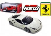 Bburago 16008W Ferrari 488 GTB weiß