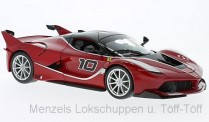 Bburago 16010R Ferrari FXX-K #10 rot