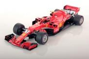 Bburago 16806K Ferrari F1 No.7 K.Räikkönen 2018