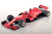 Bburago 16806V Ferrari F1 No.5 S.Vettel 2018