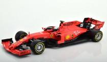 Bburago 16807V Ferrari F1 No.5 S.Vettel 2019