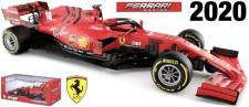 Bburago 16808L Ferrari Scuderia #16 LeClerc 2020
