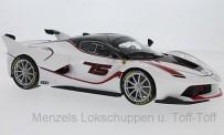 Bburago 16907WR Ferrari FXX-K  #75 weiss/rot
