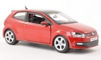 Bburago 21059R VW Polo V GTI 3t rot
