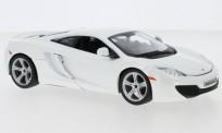 Bburago 21074W McLaren MP4-12C weiß 2016